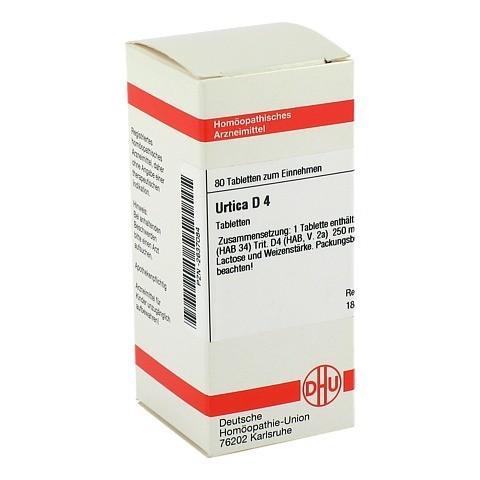 URTICA D 4 Tabletten 80 Stück N1