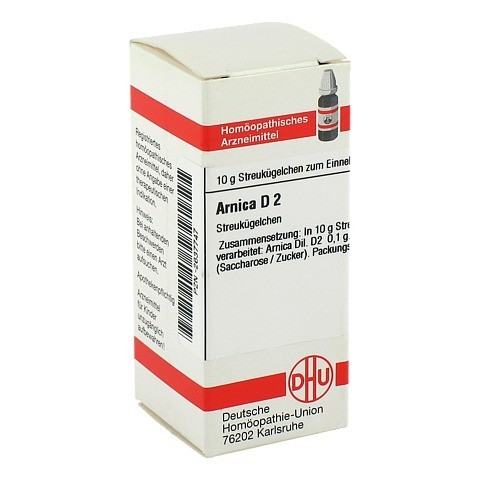 ARNICA D 2 Globuli 10 Gramm N1