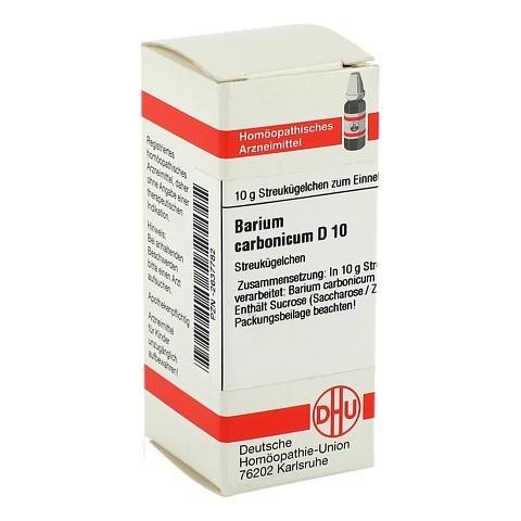 BARIUM CARBONICUM D 10 Globuli 10 Gramm N1