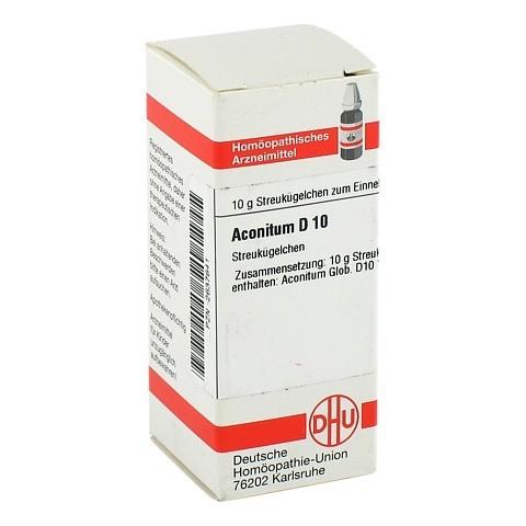 ACONITUM D 10 Globuli 10 Gramm N1