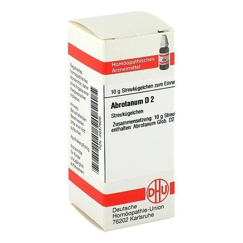 ABROTANUM D 2 Globuli 10 Gramm N1