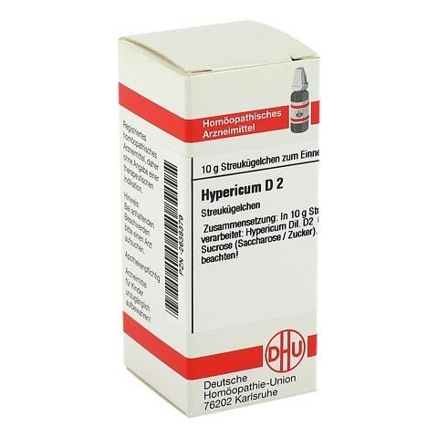 HYPERICUM D 2 Globuli 10 Gramm N1