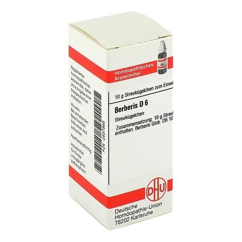 BERBERIS D 6 Globuli 10 Gramm N1