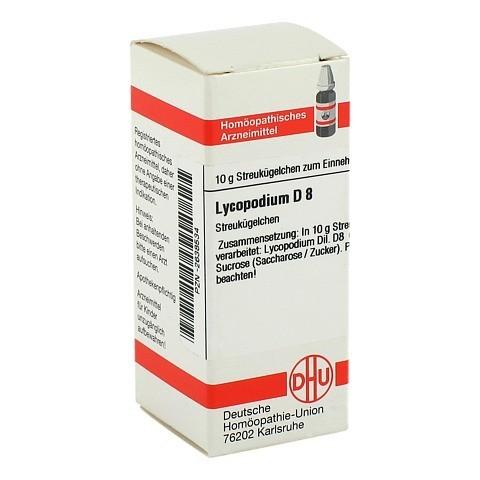 LYCOPODIUM D 8 Globuli 10 Gramm N1