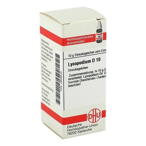 LYCOPODIUM D 10 Globuli 10 Gramm N1
