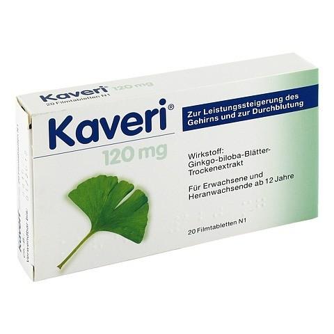Kaveri 120mg 20 Stück