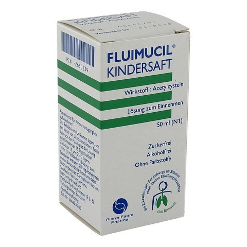 Fluimucil Kindersaft 2% 50 Milliliter N1