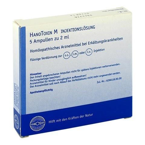 HANOTOXIN M Injektionslösung 5x2 Milliliter N1