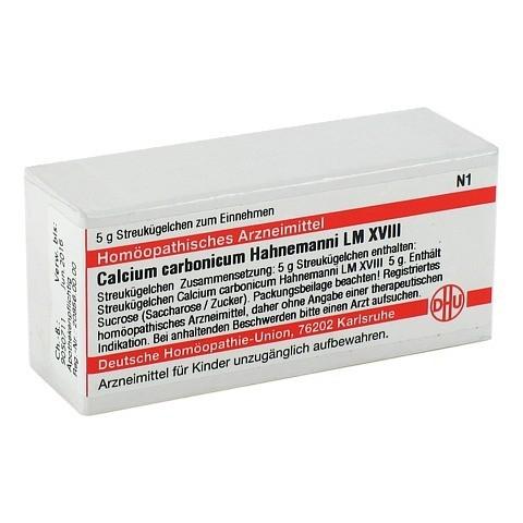 LM CALCIUM carbonicum Hahnemanni XVIII Globuli 5 Gramm N1