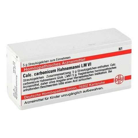 LM CALCIUM carbonicum Hahnemanni VI Globuli 5 Gramm N1