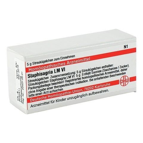LM STAPHISAGRIA VI Globuli 5 Gramm N1