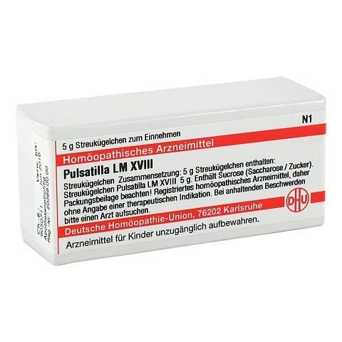 LM PULSATILLA XVIII Globuli 5 Gramm N1