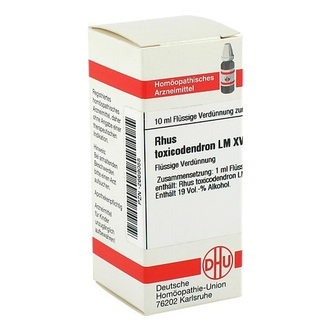 LM RHUS toxicodendron XVIII Dilution 10 Milliliter N1