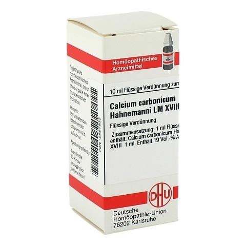 LM CALCIUM carbonicum Hahnemanni XVIII Dilution 10 Milliliter N1