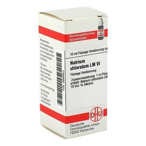LM NATRIUM chloratum VI Dilution 10 Milliliter N1