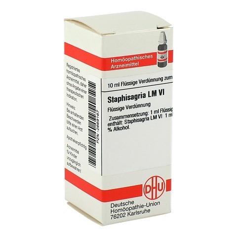 LM STAPHISAGRIA VI Dilution 10 Milliliter N1