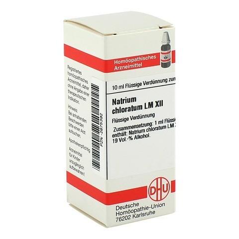 LM NATRIUM chloratum XII Dilution 10 Milliliter N1