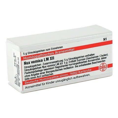 LM NUX vomica XII Globuli 5 Gramm N1