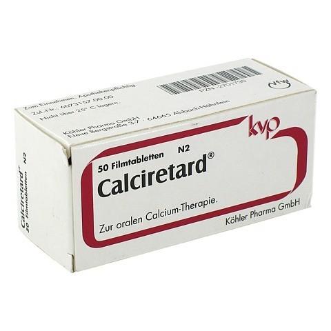 CALCIRETARD magensaftresistente Dragees 50 Stück N2