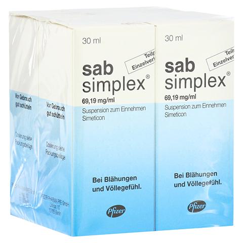 Sab simplex Suspension zum Einnehmen 4x30 Milliliter