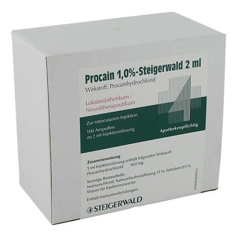 PROCAIN 1% Steigerwald Injektionslösung 100x2 Milliliter