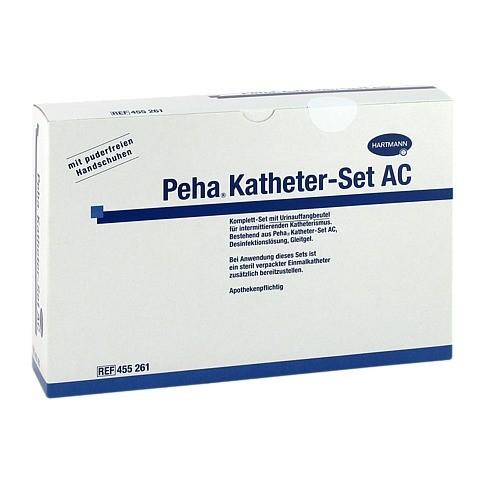 PEHA KATHETER Set AC 1 Stück