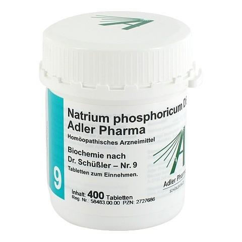 BIOCHEMIE Adler 9 Natrium phosphoricum D 6 Tabl. 400 Stück