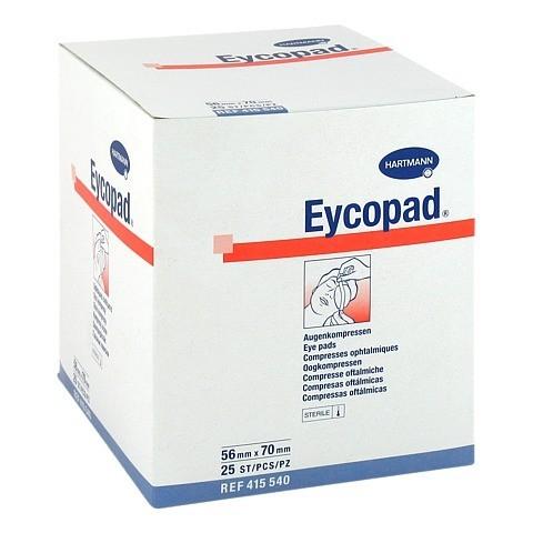 EYCOPAD Augenkompressen 56x70 mm steril 25 Stück