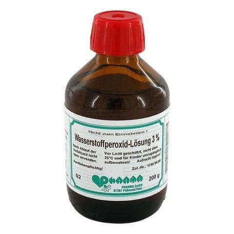 WASSERSTOFFPEROXID Lösung 3% 200 Gramm N2