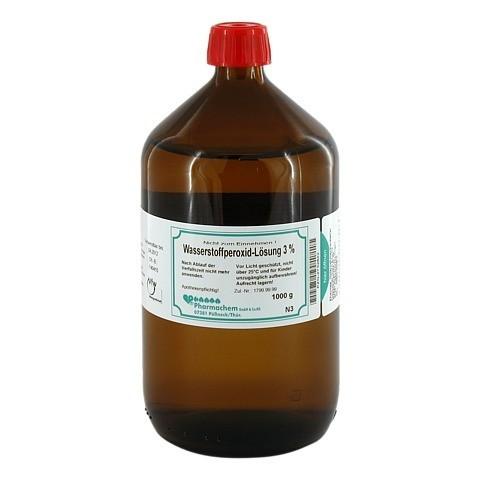 WASSERSTOFFPEROXID Lösung 3% 1000 Gramm N3