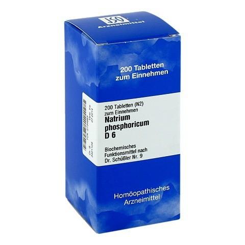 BIOCHEMIE 9 Natrium phosphoricum D 6 Tabletten 200 Stück N2