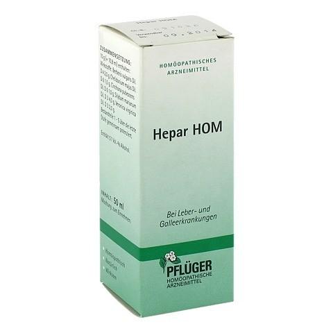 HEPAR HOM Tropfen 50 Milliliter N1