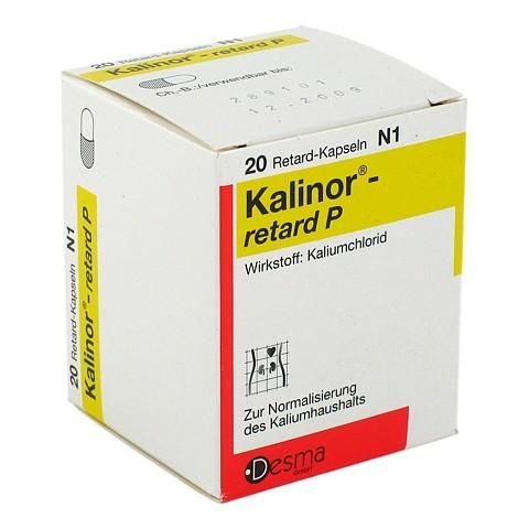 KALINOR retard P 600 mg Hartkapseln 20 Stück N1