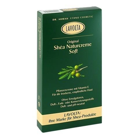 LAVOLTA Shea Naturcreme soft 2x75 Gramm