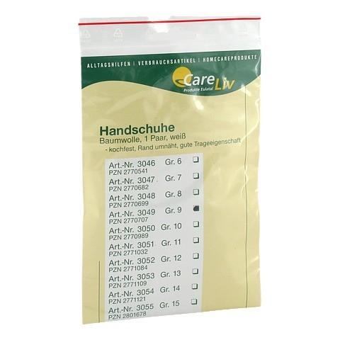 HANDSCHUHE Baumwolle Gr.9 2 Stück