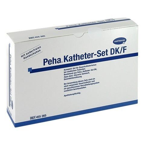 PEHA KATHETER Set DK/F 1 Stück