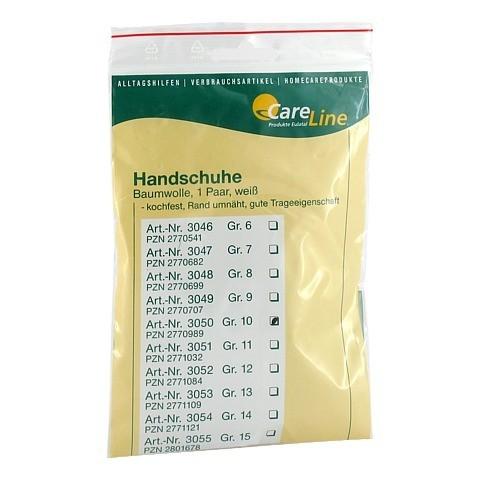 HANDSCHUHE Baumwolle Gr.10 2 Stück
