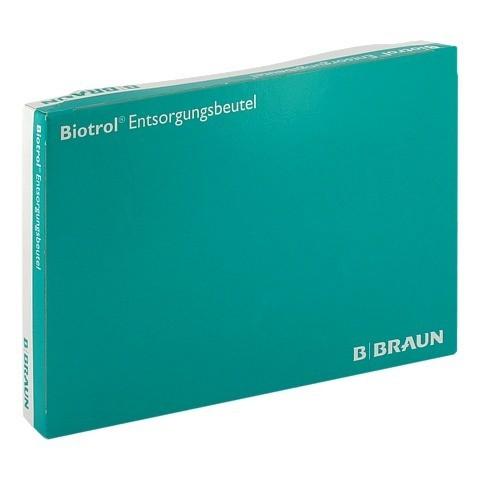 BIOTROL Entsorgungsbeutel 4 l blau 22750 100 Stück