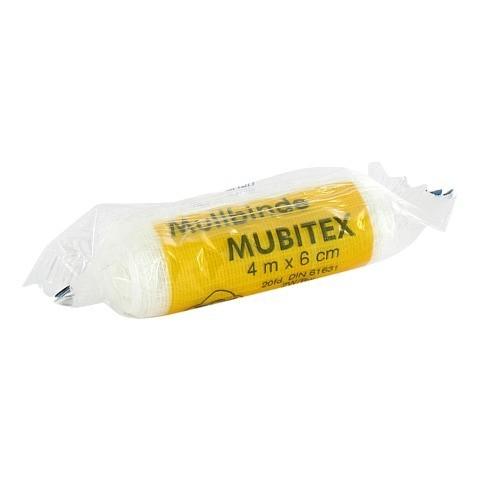 MUBITEX Mullbinden 6 cm einzeln in Cello 1 Stück