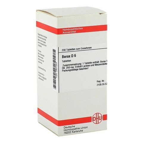BORAX D 6 Tabletten 200 Stück N2