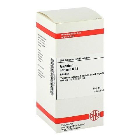 ARGENTUM NITRICUM D 12 Tabletten 200 Stück N2