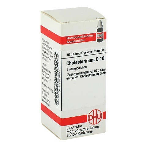 CHOLESTERINUM D 10 Globuli 10 Gramm N1
