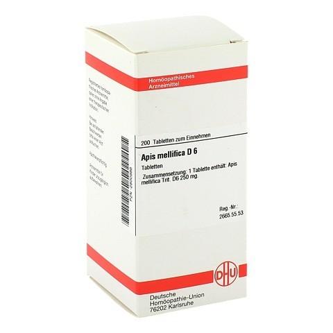 APIS MELLIFICA D 6 Tabletten 200 Stück N2