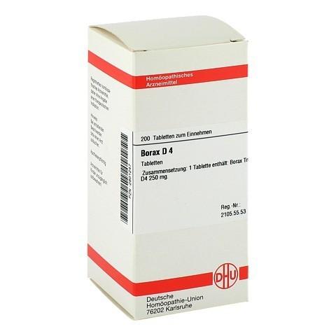 BORAX D 4 Tabletten 200 Stück N2
