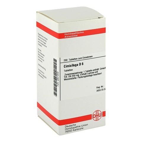 CIMICIFUGA D 6 Tabletten 200 Stück N2
