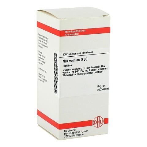 NUX VOMICA D 30 Tabletten 200 Stück