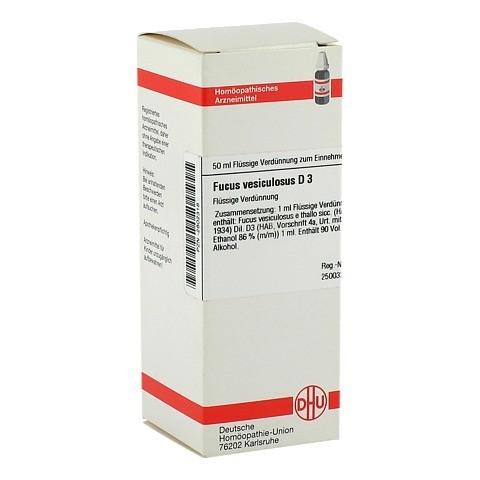 FUCUS VESICULOSUS D 3 Dilution 50 Milliliter N1