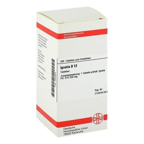 IGNATIA D 12 Tabletten 200 Stück N2