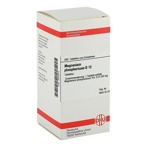 MAGNESIUM PHOSPHORICUM D 12 Tabletten 200 Stück N2