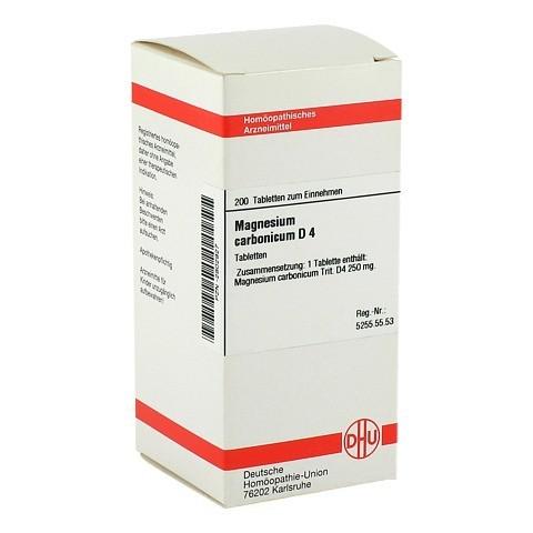 MAGNESIUM CARBONICUM D 4 Tabletten 200 Stück N2